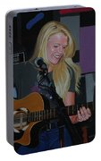 Guitar Girl Portable Battery Charger