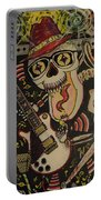 Guitar Playing Skeleton 3 Portable Battery Charger