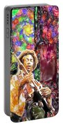 Guitar Watercolor Portable Battery Charger