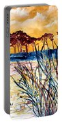 Gulf Coast Seascape Tropical Art Print Portable Battery Charger
