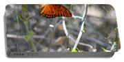 Gulf Fritillary Flying Portable Battery Charger