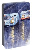 Gulf-porsche 917 K Spa Francorchamps 1970 Portable Battery Charger