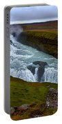 Gullfoss Waterfall #2 - Iceland Portable Battery Charger