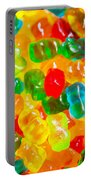 Gummy Bears Abstract Art Portable Battery Charger
