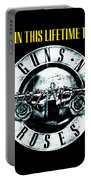 Guns And Roses Logo1 2017 Portable Battery Charger