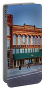 Guthrie Oklahoma Street Scene  Portable Battery Charger