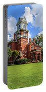 Gwinnett County Historic Courthouse Portable Battery Charger by Doug Camara