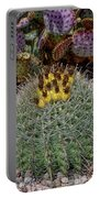 H D R Budding Cactus Portable Battery Charger