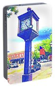 Haddonfield Clock Portable Battery Charger