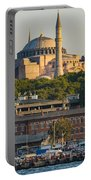 Hagia Sophia On The Bosphorus  Portable Battery Charger