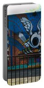 Haight Ashbury Mural Portable Battery Charger
