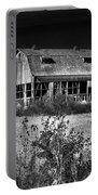 Hainesville Barn B/w Portable Battery Charger