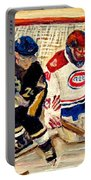 Halak Catches The Puck Stanley Cup Playoffs 2010 Portable Battery Charger