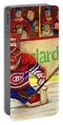 Halak Makes Another Save Portable Battery Charger by Carole Spandau