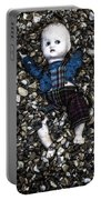 Half Buried Doll Portable Battery Charger
