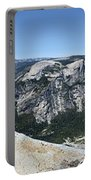 Half Dome And Yosemite Valley From The Diving Board - Yosemite Valley Portable Battery Charger
