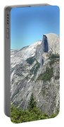 Half Dome From Inspiration Point Portable Battery Charger