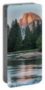 Half Dome In Evening Light Portable Battery Charger