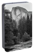 Half Dome In Monochrome Portable Battery Charger