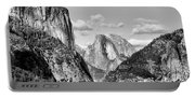 Half Dome Tunnel View  Portable Battery Charger