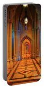 Hall Of The Cathedral Portable Battery Charger
