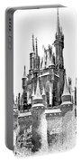 Hall Of The Snow King Monochrome Portable Battery Charger