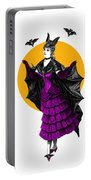 Halloween Batgirl Portable Battery Charger