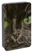 Halloween Black Cat I Portable Battery Charger