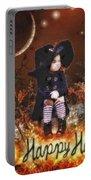 Halloween Girl Portable Battery Charger