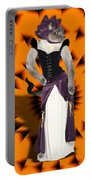 Halloween Hussy Portable Battery Charger
