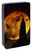 Halloween Moon Portable Battery Charger
