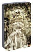Halloween Mrs Bones The Bride Vertical Portable Battery Charger
