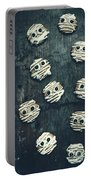 Halloween Mummy Cookies Portable Battery Charger