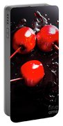 Halloween Toffee Apples Portable Battery Charger