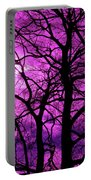 Halloween Trees No 3 By Dm Carpenter Portable Battery Charger