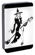 Halloween Witch  Portable Battery Charger