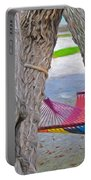 Hammock Time In The Florida Keys Portable Battery Charger