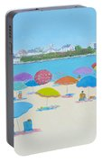 Hampton Beach And Boars Head Portable Battery Charger