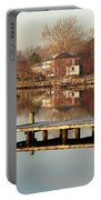 Hampton Virginia Sunrise Portable Battery Charger