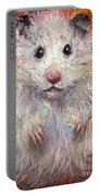 Hamster Painting  Portable Battery Charger