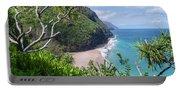 Hanakapiai Beach Portable Battery Charger