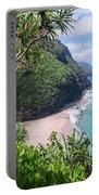 Hanakapiai Beach - Kalalau Trail - Kauai Hawaii Portable Battery Charger