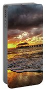 Hanalei Pier Reflections Portable Battery Charger