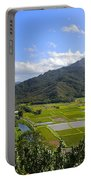 Hanalei River Overlook In Kauai Portable Battery Charger