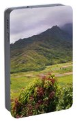 Hanalei Valley Panorama Portable Battery Charger