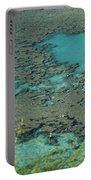Hanauma Bay Reef And Snorkelers Portable Battery Charger