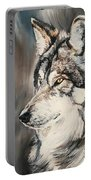 Handsome Wolf Portable Battery Charger