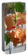Hanging Hibiscus Portable Battery Charger