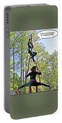 Hanging Out Portable Battery Charger