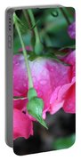 Hanging Roses Portable Battery Charger